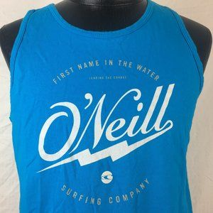 O'Neill Surfing Co Teal Tank Top